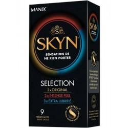 MANIX Préservatifs Skyn Sélection par 9