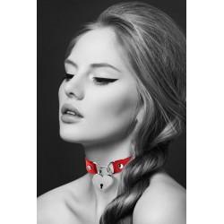 BIJOUX POUR TOI Collier pendentif cœur - Rouge