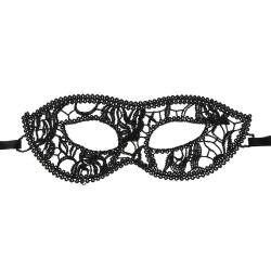 BLACK WOLF Masque dentelle noir BW82066