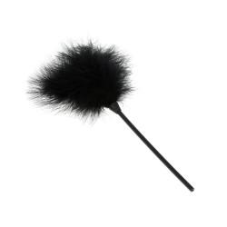 BLACK WOLF Plumeau noir