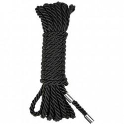 BE HAPPY Corde Nylon noir 10m
