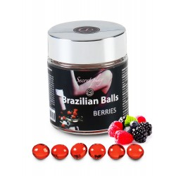 SECRET PLAY Brazilian Balls Fruit des bois par 6