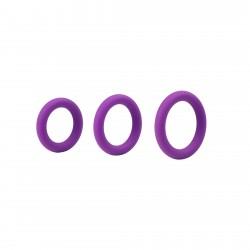 ECO Toys Set de trois anneaux violet