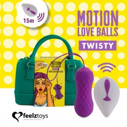 FEELZTOYS Motion Love Balls Twisty