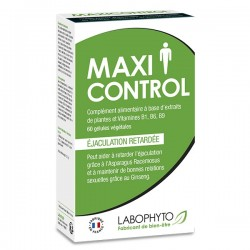 LABOPHYTO Aphrodisiaque Homme - MaxiControl - cure 1 mois